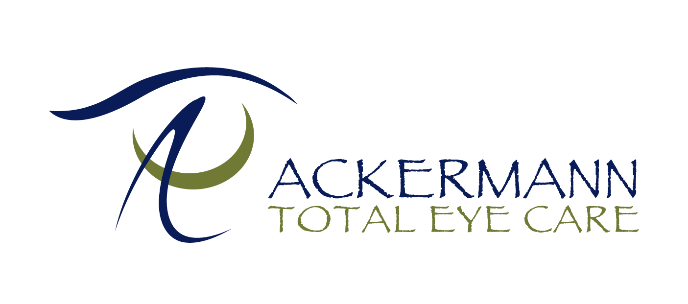 Ackermann Total Eye Care Logo